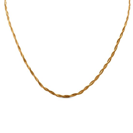 Radiance Chain In 22K Gold