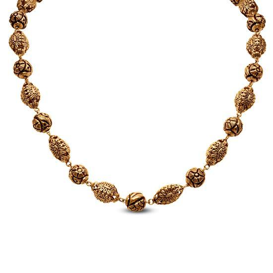 Antique Chain In 22K Gold